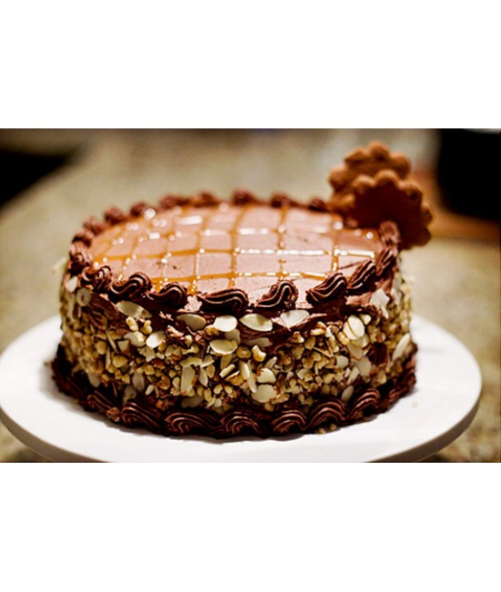 Chololate Almond Cake